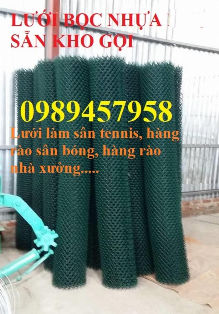 Lưới b40 làm lồng nuôi cá, Lưới b40 bọc nhựa làm sân tennis, B40 làm hàng rào3