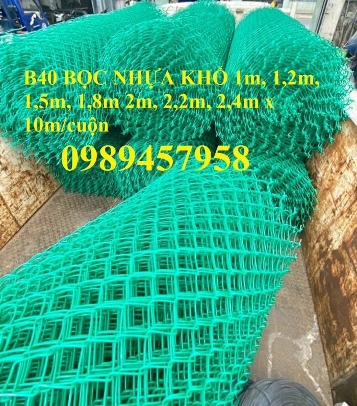 Lưới b40 làm lồng nuôi cá, Lưới b40 bọc nhựa làm sân tennis, B40 làm hàng rào5