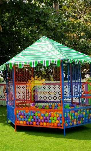 Chuyên sản xuất, cung cấp nhà banh ngoài trời cho trường mầm non, công viên, khu vui chơi