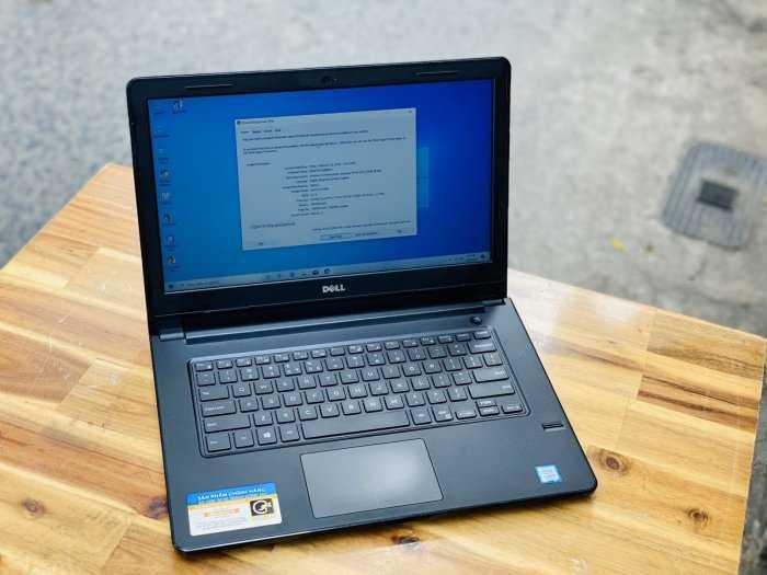Laptop Dell N5468/ i5 7200U/ 8G/ SSD128+500G/ Vga R7 2G/ Win 10/ Chuyên Game Đồ Họa/ Giá rẻ