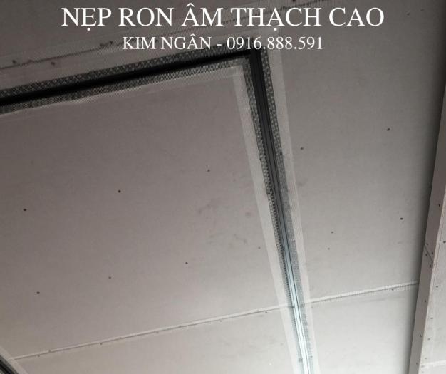 Nẹp nhựa khe thạch cao - nẹp khe co giãn trần - nẹp chữ u âm trần hoặc tường2