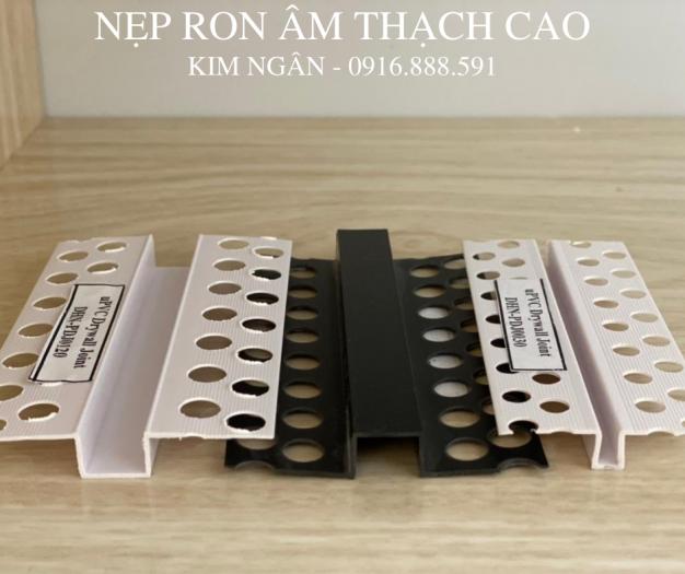 Nẹp nhựa khe thạch cao - nẹp khe co giãn trần - nẹp chữ u âm trần hoặc tường3