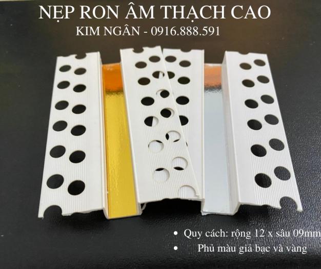 Nẹp nhựa khe thạch cao - nẹp khe co giãn trần - nẹp chữ u âm trần hoặc tường7