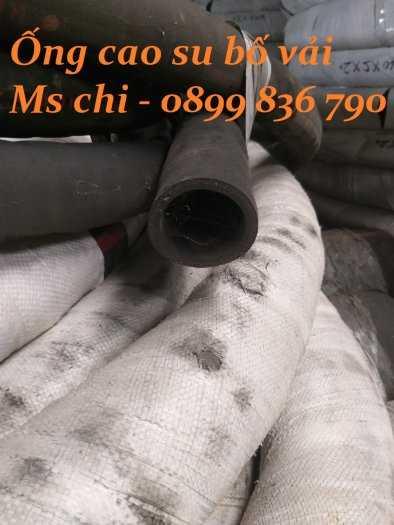 Ống cao su bố vải 3 lớp , 5 lớp bố D60 chất lượng.