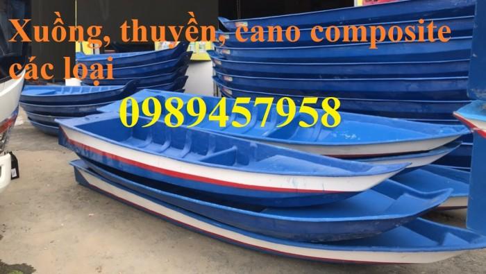 Thuyền ba lá, thuyền composite, thuyền gỗ, Thuyền chèo tay cho 2 người6