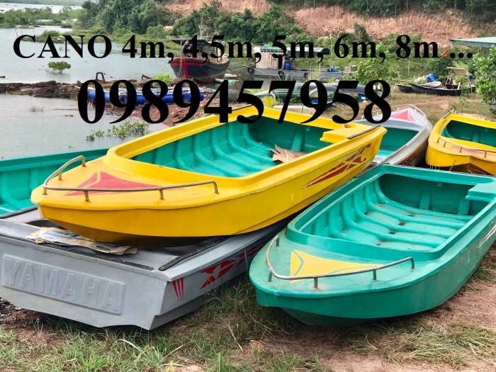 Thuyền ba lá, thuyền composite, thuyền gỗ, Thuyền chèo tay cho 2 người8