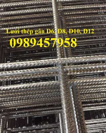 Lưới thép hàn chập phi 12 ô 100x100, 150x150, 200x200, D10 ô 100x200, 250x2506