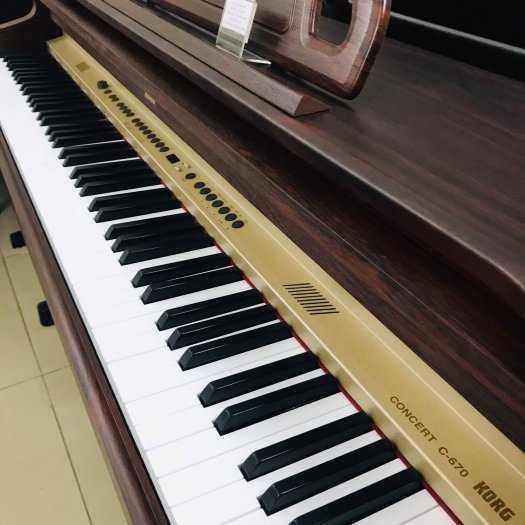Piano điện KORG-C670 Đã qua sử dụng, giá: 10.000.000đ, gọi: 0909 002 368,  Quận Phú Nhuận - Hồ Chí Minh, id-50f61700