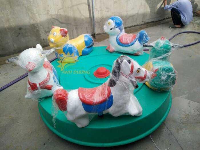 Chuyên sản xuất và cung cấp mâm xoay cho trường mầm non, khu vui chơi, công viên4