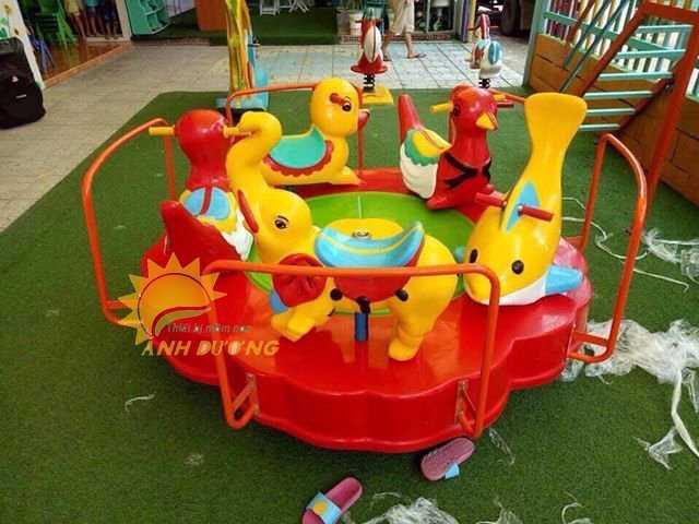 Chuyên sản xuất và cung cấp mâm xoay cho trường mầm non, khu vui chơi, công viên6