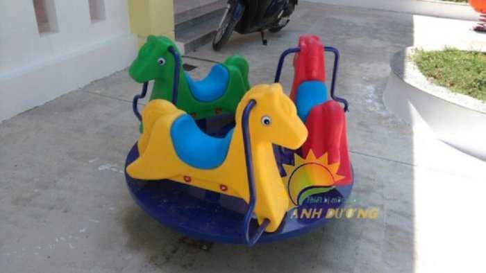 Cung cấp đu quay trẻ em cho trường mầm non, khu vui chơi, công viên8