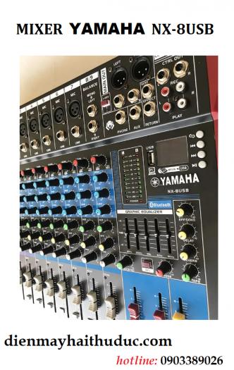 Mixer Bàn Yamaha NX-8USB mẫu 2020 hỗ trợ Bluetooth