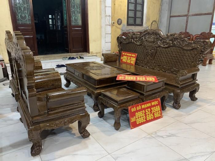 Bộ Bàn Ghế Phòng Khách Hoàng Gia Gỗ Mun Đuôi Công - Gọi 0962523566 (24/24) dogomanhmoc.com1