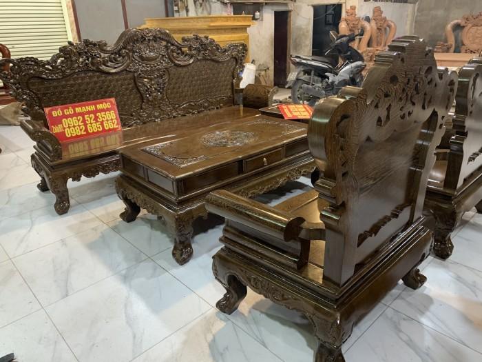 Bộ Bàn Ghế Phòng Khách Hoàng Gia Gỗ Mun Đuôi Công - Gọi 0962523566 (24/24) dogomanhmoc.com3