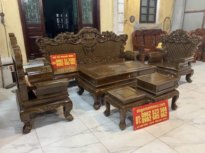 Bộ Bàn Ghế Phòng Khách Hoàng Gia Gỗ Mun Đuôi Công - Gọi 0962523566 (24/24) dogomanhmoc.com2