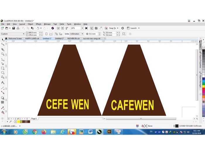 Dù Caffe che nắng và mưa giá gốc - nội thất Nguyễn hoàng2
