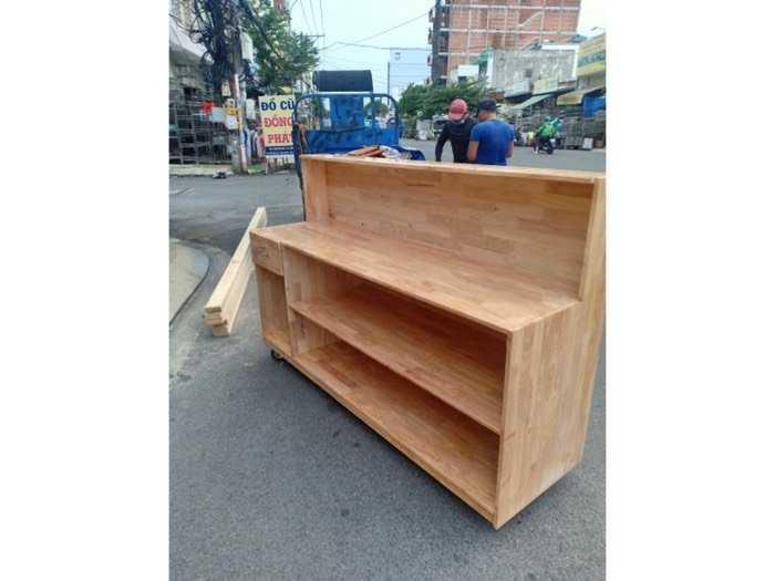 Quầy bar gỗ cafe giá xưởng - nội thất Nguyễn hoàng0