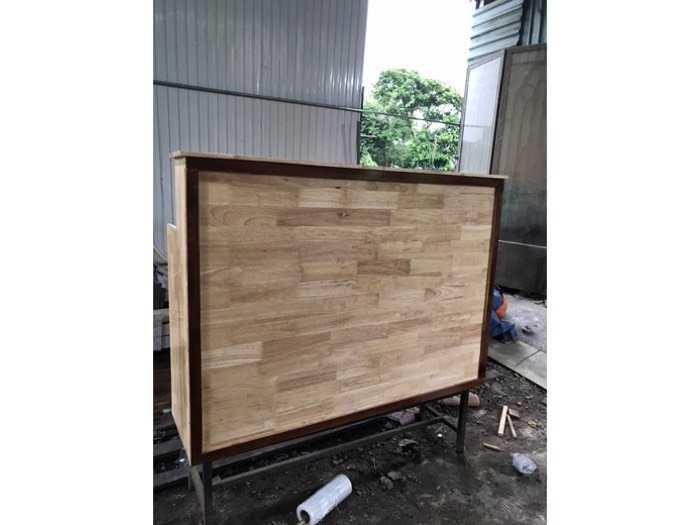 Quầy bar gỗ cafe giá xưởng - nội thất Nguyễn hoàng2