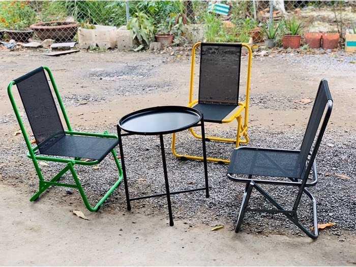 Ghế xếp lưới sắt caffe giá xưởng - nội thất Nguyễn Hoàng3