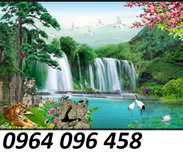 Gạch tranh 3d cảnh thiên nhiên - CL094