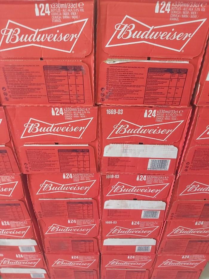 Bia Budweiser Nhập Khẩu Mỹ, 330ml, 24 chai2