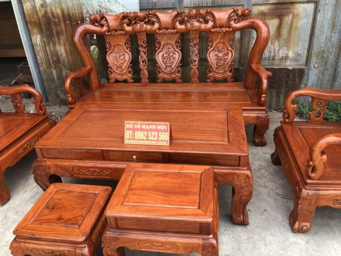 Bàn Ghế Phòng Khách Minh Quốc Đào Gỗ Hương Đá dogomanhmoc.com12