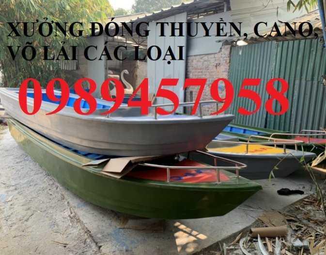 Cano chở 3-4 người, Cano giá rẻ, Thuyền 6m1
