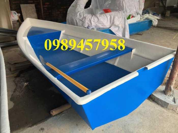 Thuyền chèo composite chở 3 người, Cano 4m và 6m giá rẻ5