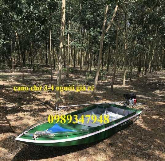 Thuyền chèo composite chở 3 người, Cano 4m và 6m giá rẻ3