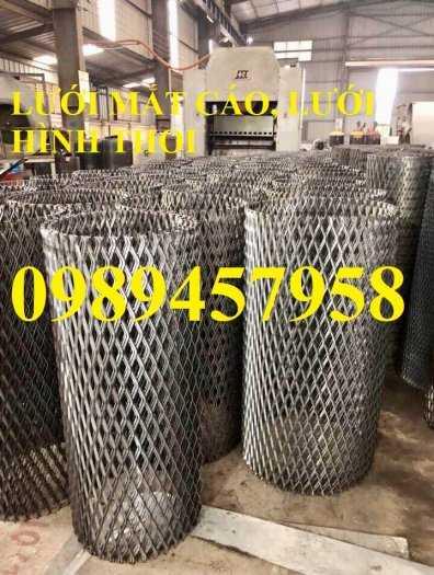 Sản xuất lưới sàn thao tác, lưới mắt cáo, lưới hình thoi, lưới kéo dãn 30x60, 45x90, 36x101 dày 3ly, 4ly giá tốt1