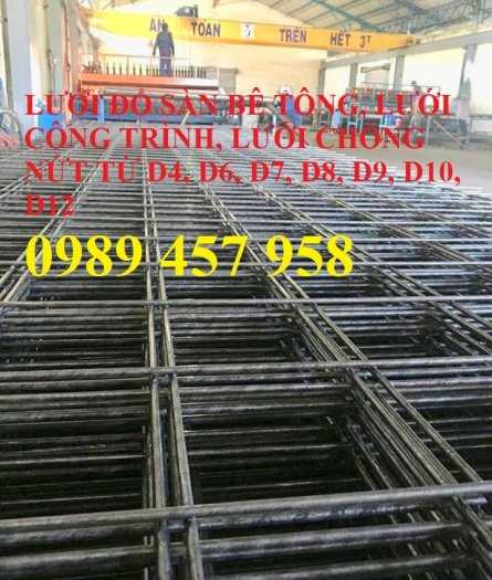 Bán Lưới thép đổ bê tông phi 8 a 200x200, D8 a 200x200 giao hàng sớm9