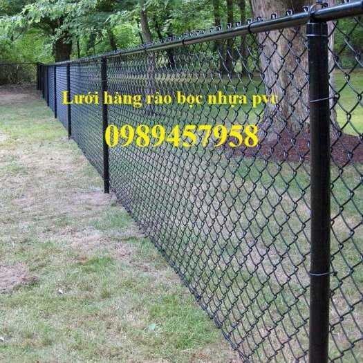 Lưới b40 làm lồng nuôi cá, Lưới b40 bọc nhựa làm sân tennis, B40 làm hàng rào1