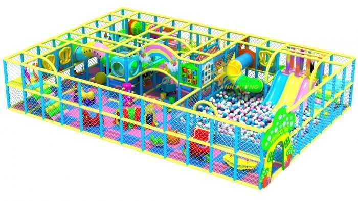 Chuyên nhận tư vấn, thiết kế và thi công khu vui chơi liên hoàn trong nhà dành cho trẻ em