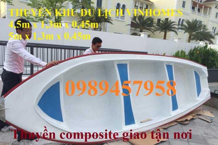 Thuyền composite chở 4-6 người, thuyền chở khách 10-20 người tại Hà Nội2