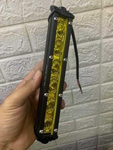 Đèn trợ sáng 6 Led vàng và trắng dài kiểu dáng Hammer Led Bar 20cm gọn nhỏ2