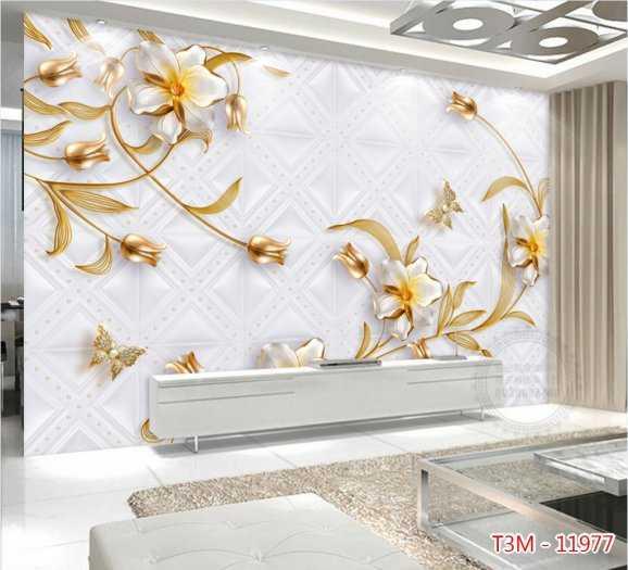 Gạch tranh hoa 3D