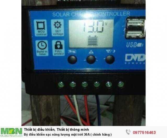 Bộ điều khiển sạc năng lượng mặt trời 30A ( chính hãng )