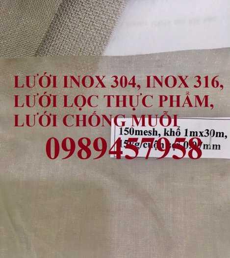 Lưới đan inox 1ly, 1,2ly,1,5ly, 2ly ô 5x5, 8x8, 12x12, 15x15, 20x206