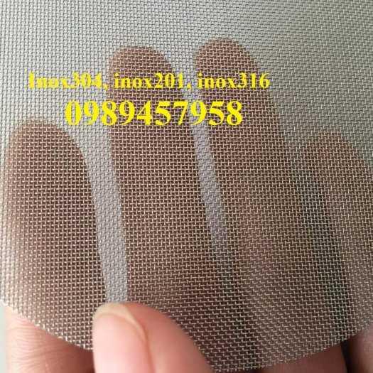 Lưới đan inox 1ly, 1,2ly,1,5ly, 2ly ô 5x5, 8x8, 12x12, 15x15, 20x204