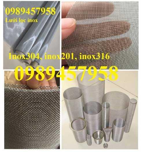 Lưới đan inox 1ly, 1,2ly,1,5ly, 2ly ô 5x5, 8x8, 12x12, 15x15, 20x202