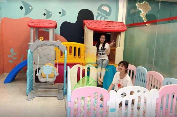 Bàn ghế - Cầu trượt - Nhà banh cho bé rẻ đẹp7