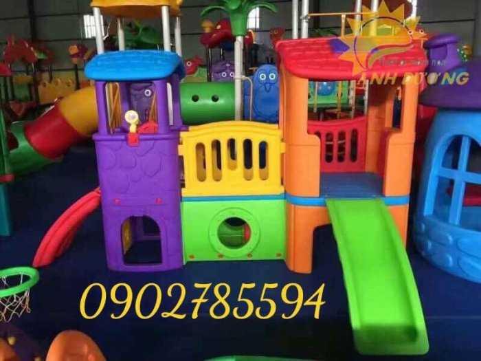 Bàn ghế - Cầu trượt - Nhà banh cho bé rẻ đẹp11