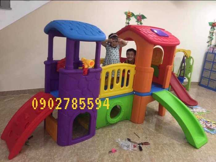 Bàn ghế - Cầu trượt - Nhà banh cho bé rẻ đẹp4