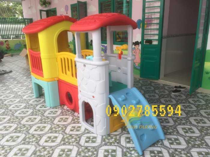 Bàn ghế - Cầu trượt - Nhà banh cho bé rẻ đẹp5