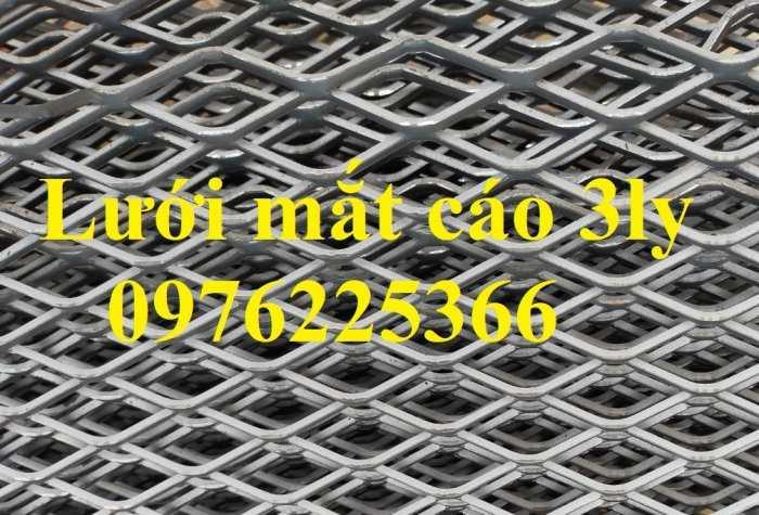 Lưới mắt cáo 3ly, lưới dập giãn 3ly, lưới quả trám, lưới hình thoi8