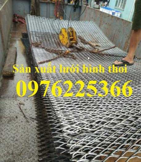 Lưới mắt cáo 3ly, lưới dập giãn 3ly, lưới quả trám, lưới hình thoi2