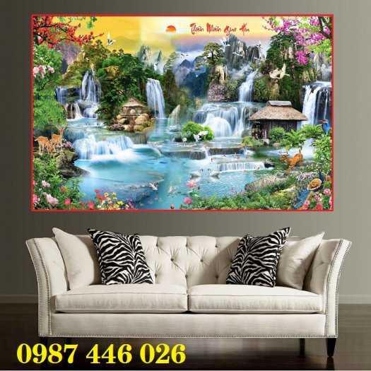 Tranh phong cảnh, tranh ốp tường HP952