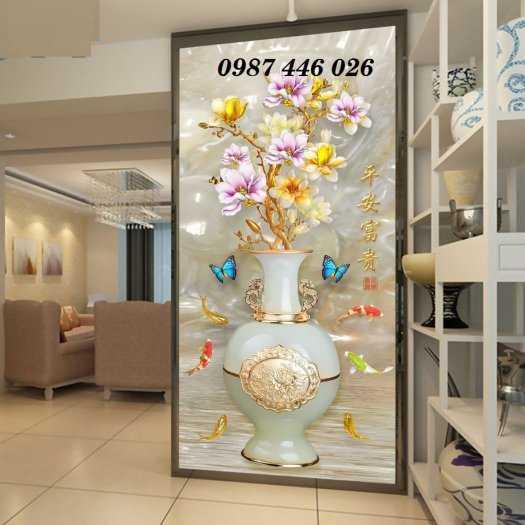 Tranh gạch men bình hoa ngọc HP620