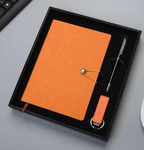 Sổ da, bút, ví namecard, bình giữ nhiệt khắc logo quảng cáo2