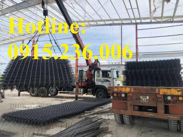 Lưới thép hàn D8  a200x200 dạng tấm làm theo yêu cầu0